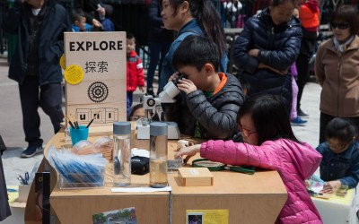 New EXPLORE cart brings STEAM learning to NYC Chinatown