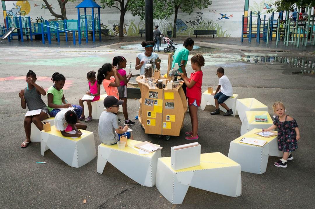 Uni in Harlem playground