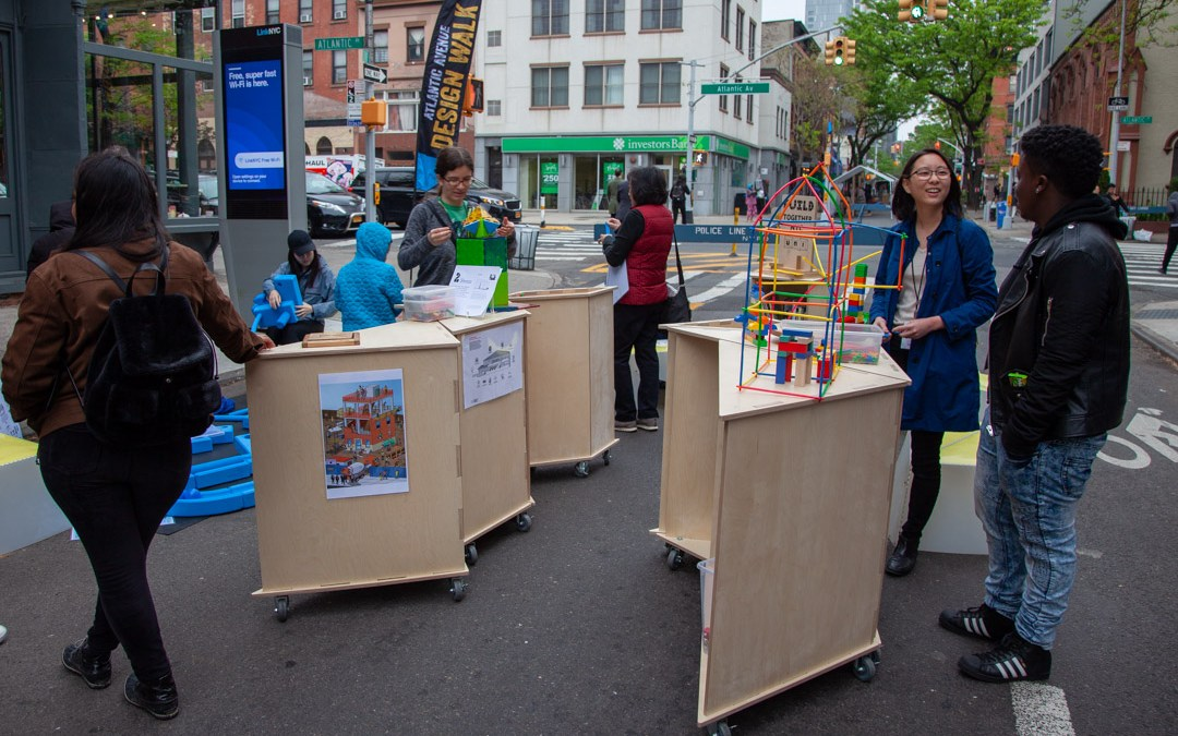 BUILD prototype launched at Design Walk Brooklyn!