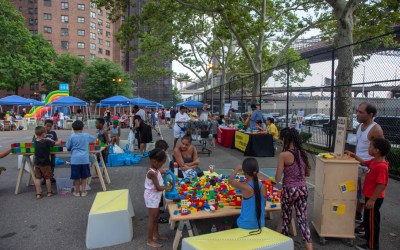 Building together at Smith Houses, NYCHA