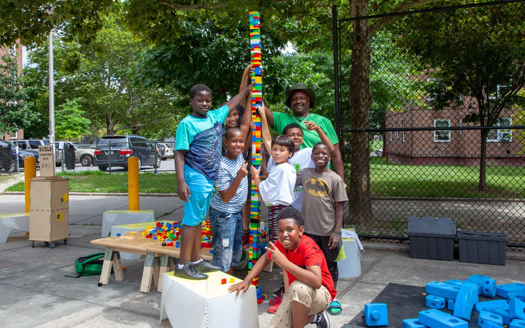 Building tall at NYCHA Forest Houses in the Bronx