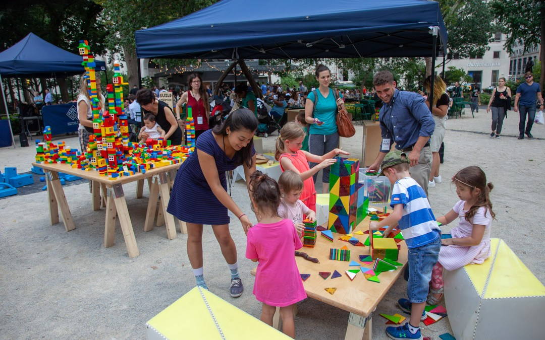 Uni Project brings BUILD NYC to Madison Square Park