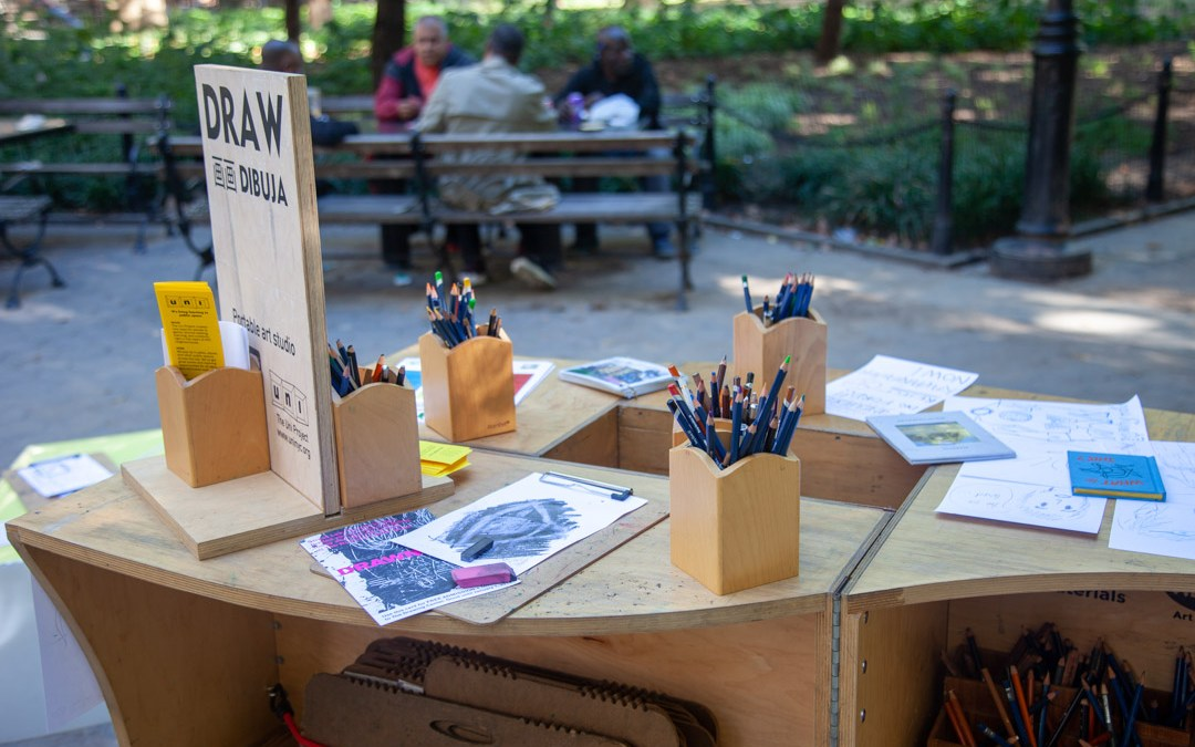 DRAW in Washington Square Park