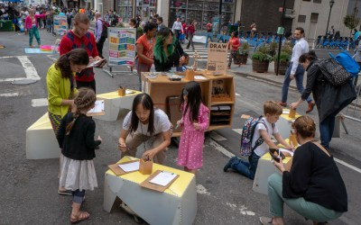 Open-air art studio DRAW NYC lands in downtown Brooklyn