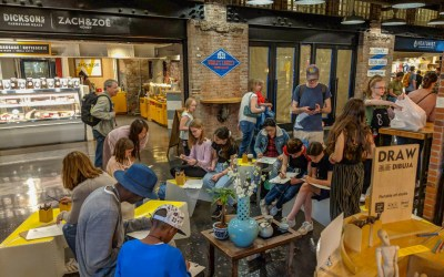 Our residency at Chelsea Market wraps up as we head outdoors