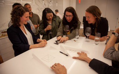 Designing a communal street table with Open Architecture New York
