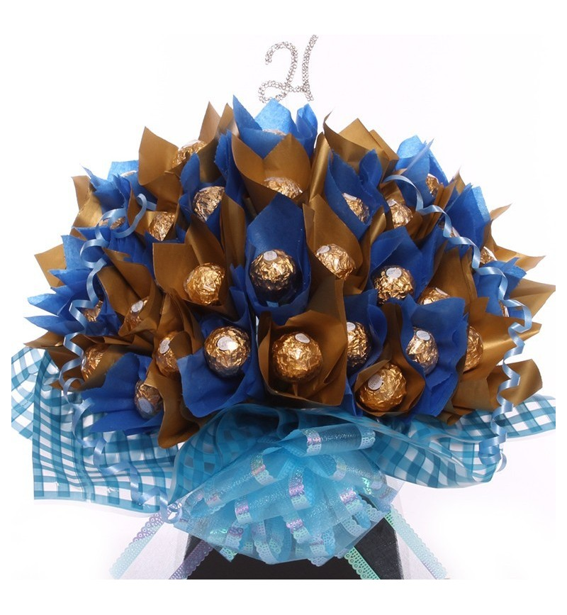 21st Birthday Gift For Him Chocolate Bouquet