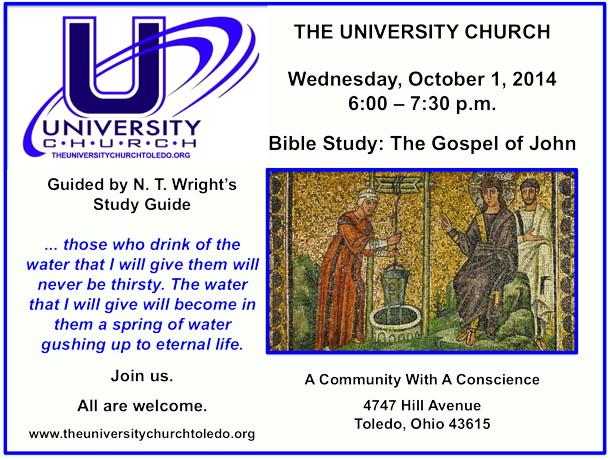 October 1 2014 Bible Study