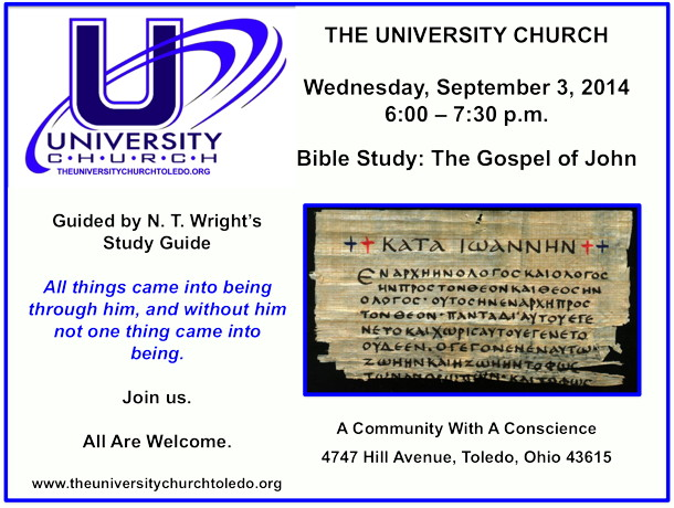 September 3 2014 Bible Study