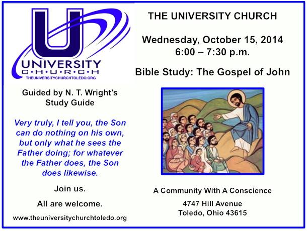 October 15 2014 Bible Study