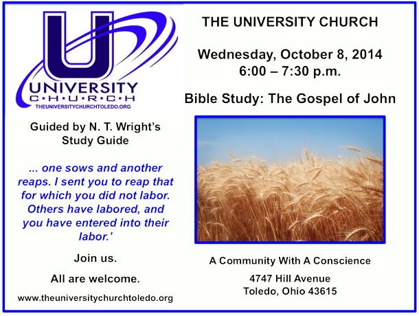 October 8 2014 Bible Study