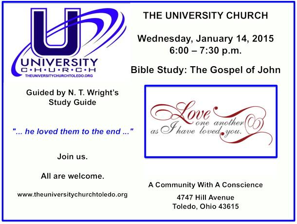 January 14 2015 Bible Study