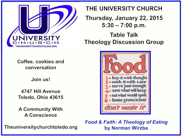 January 22 2015 theology group