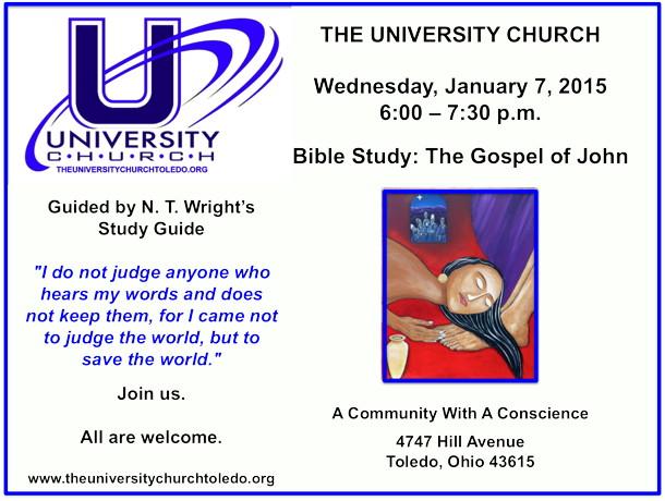 January 7 2015 Bible Study