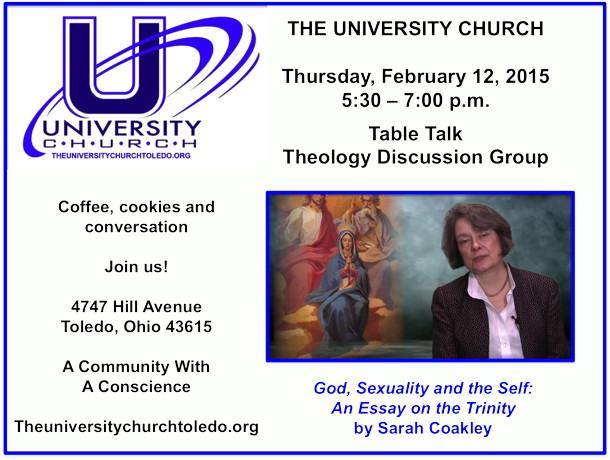 February 12 2015 Theology Group
