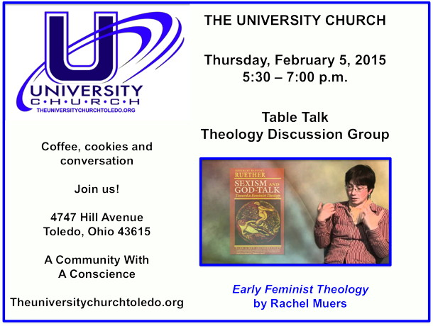 February 5 2015 Theology Group
