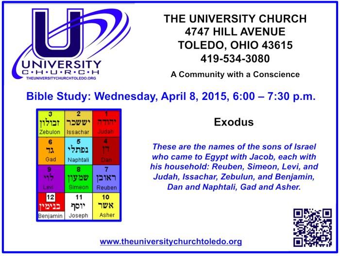 April 8 2015 Bible Study