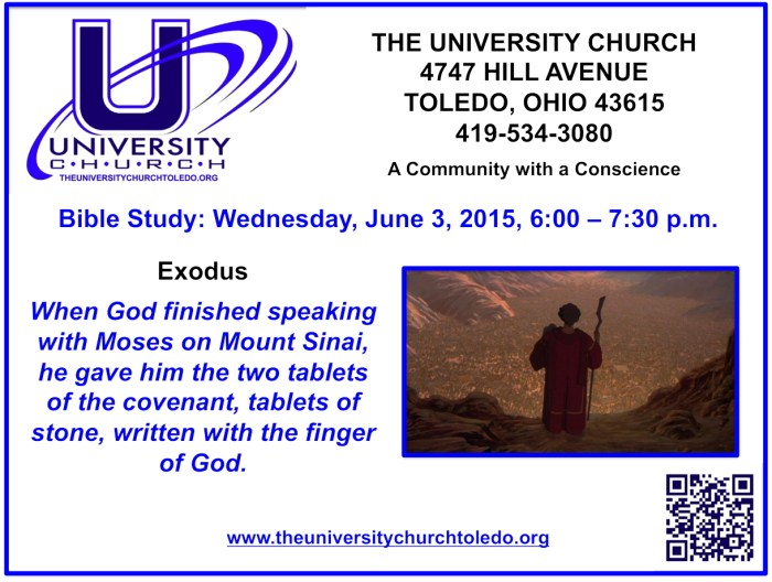 June 3 2015 Bible Study