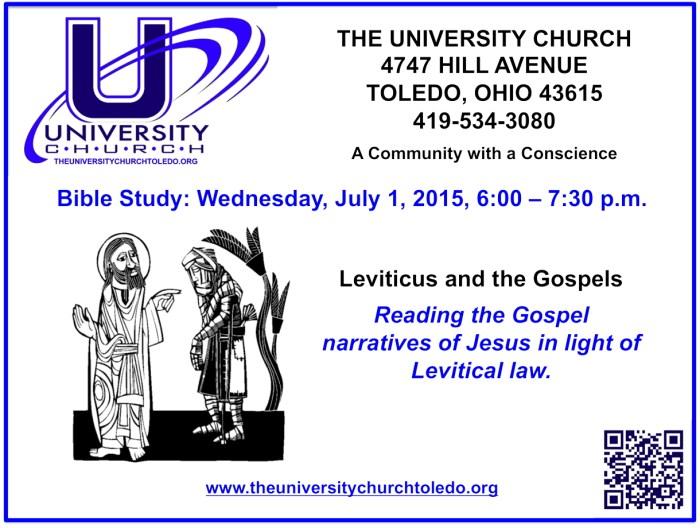 JUly 1 2015 Bible Study