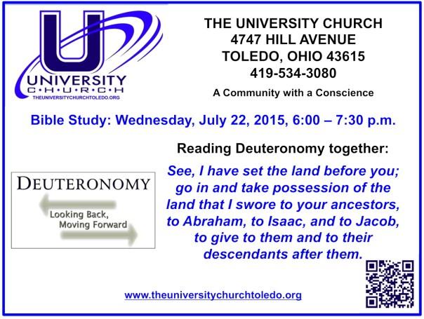 July 22 2015 Bible Study