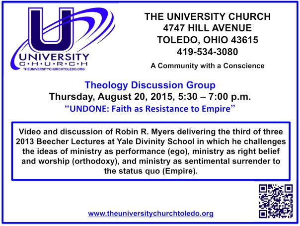 August 20 2015 theology group