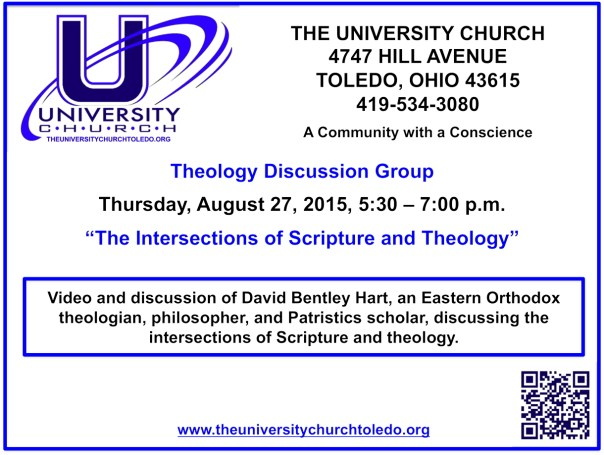 August 27 2015 Theology Group
