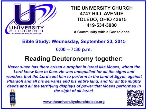 September 23 2015 Bible Study