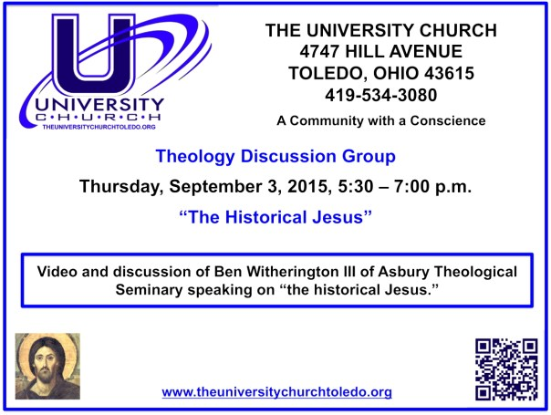 September 3 2015 theology group
