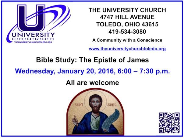 January 20 2016 Bible Study