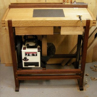 A Dedicated Sharpening Bench – part 8