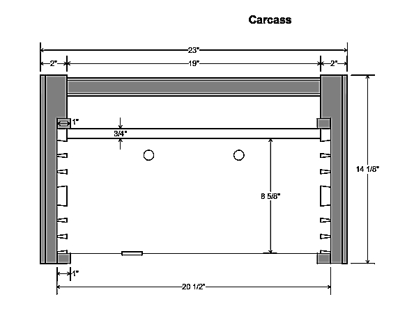 A Cabinetmaker's Toolchest part one