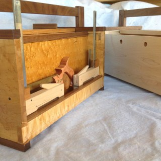 A Cabinetmaker's Toolchest in Idaho