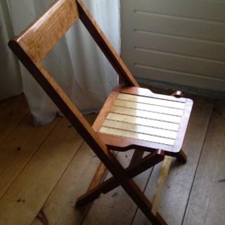 A Dutch Funeral Chair