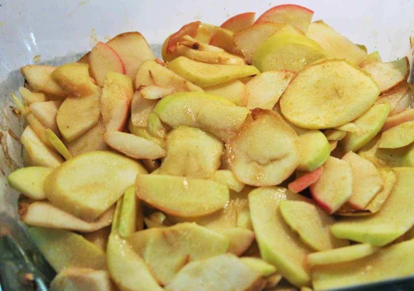 apple pear plantain cobbler aip paleo gluten grain free