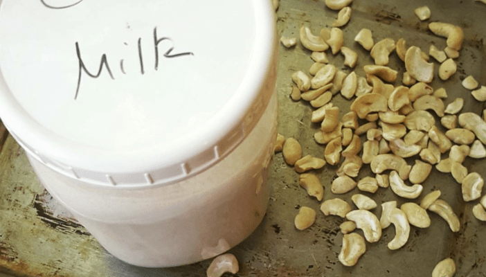 35-Minute Cashew Milk – Whole 30, Paleo