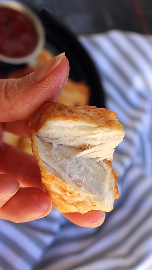 cassava chicken nuggets