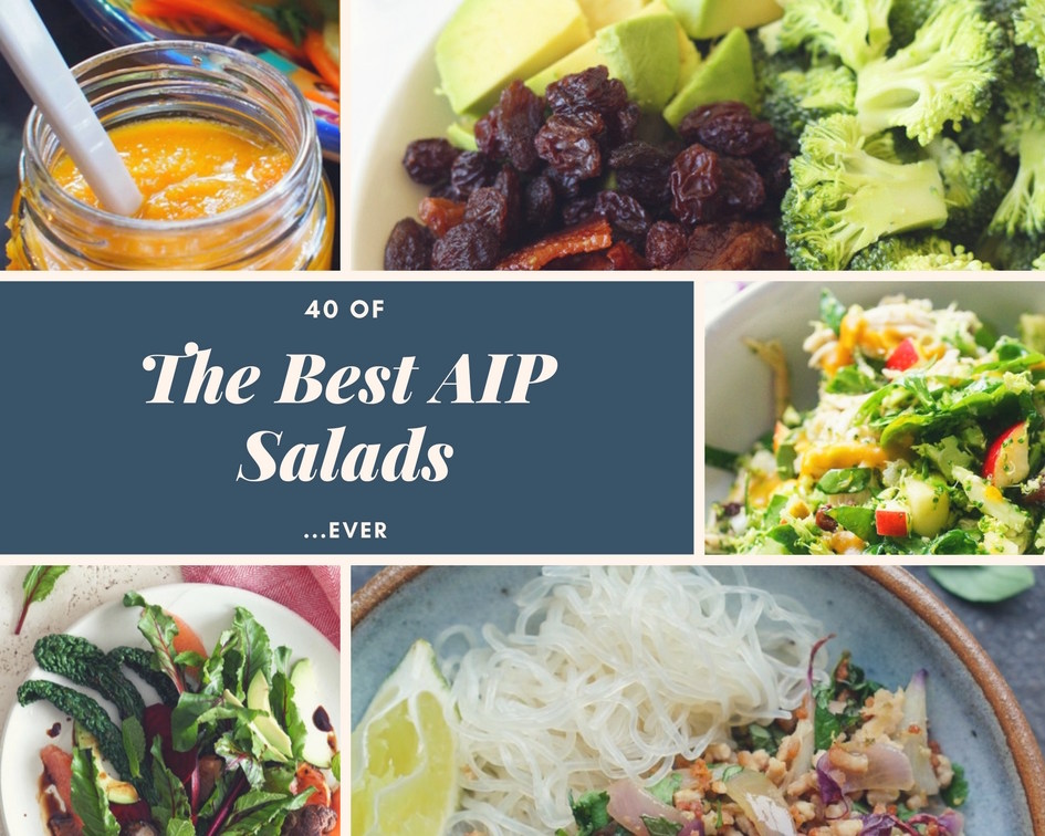 40 best AIP salads roundup