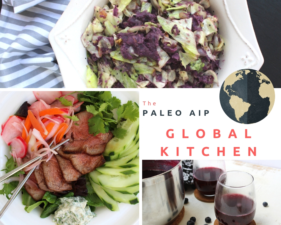 paleo aip global kitchen ebook cookbook