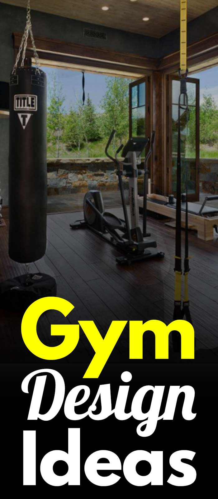 10+ Gym Design Ideas