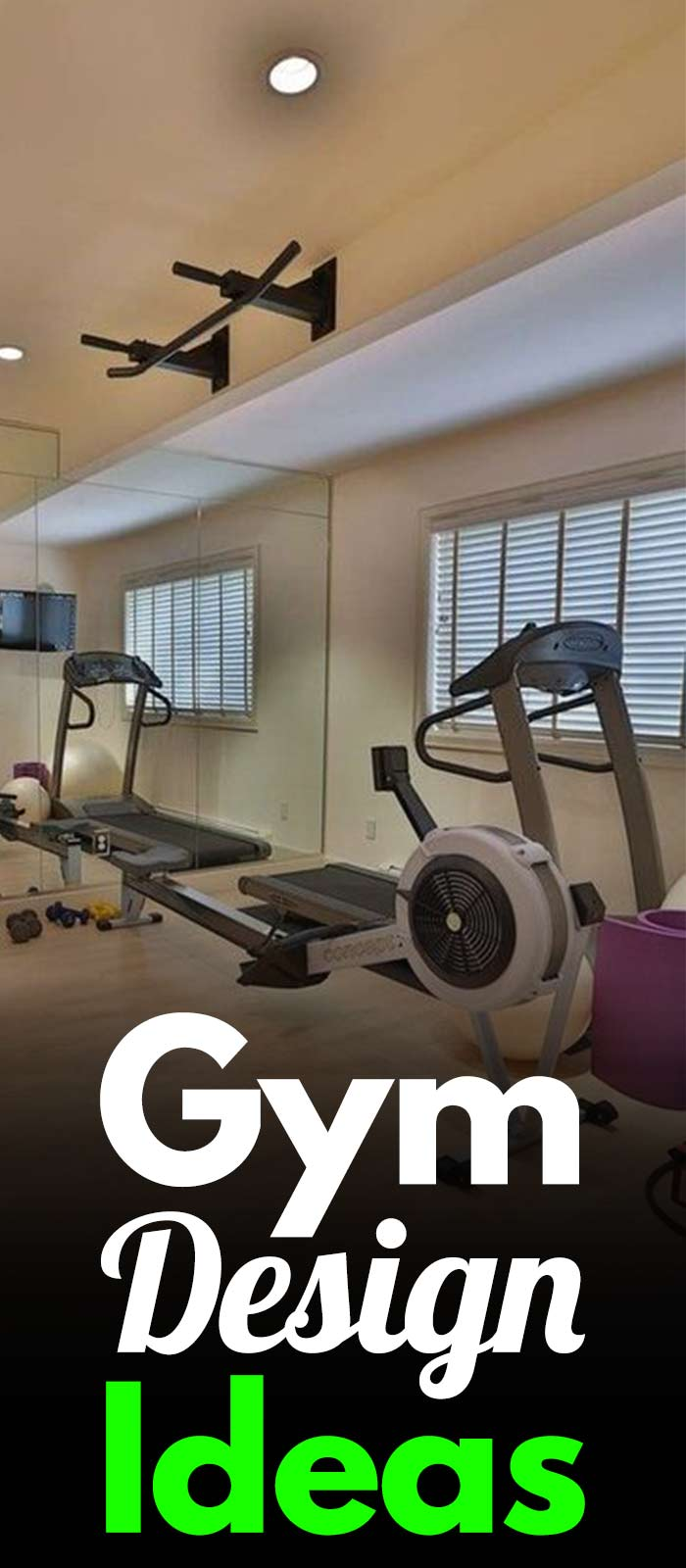10+ Gym Design Ideas.