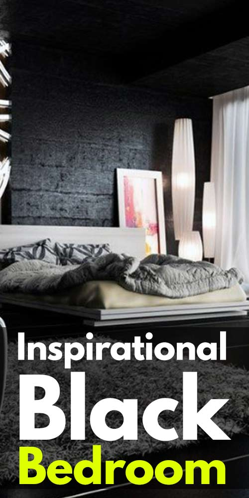 15+ Inspirational Black Bedroom Designs!