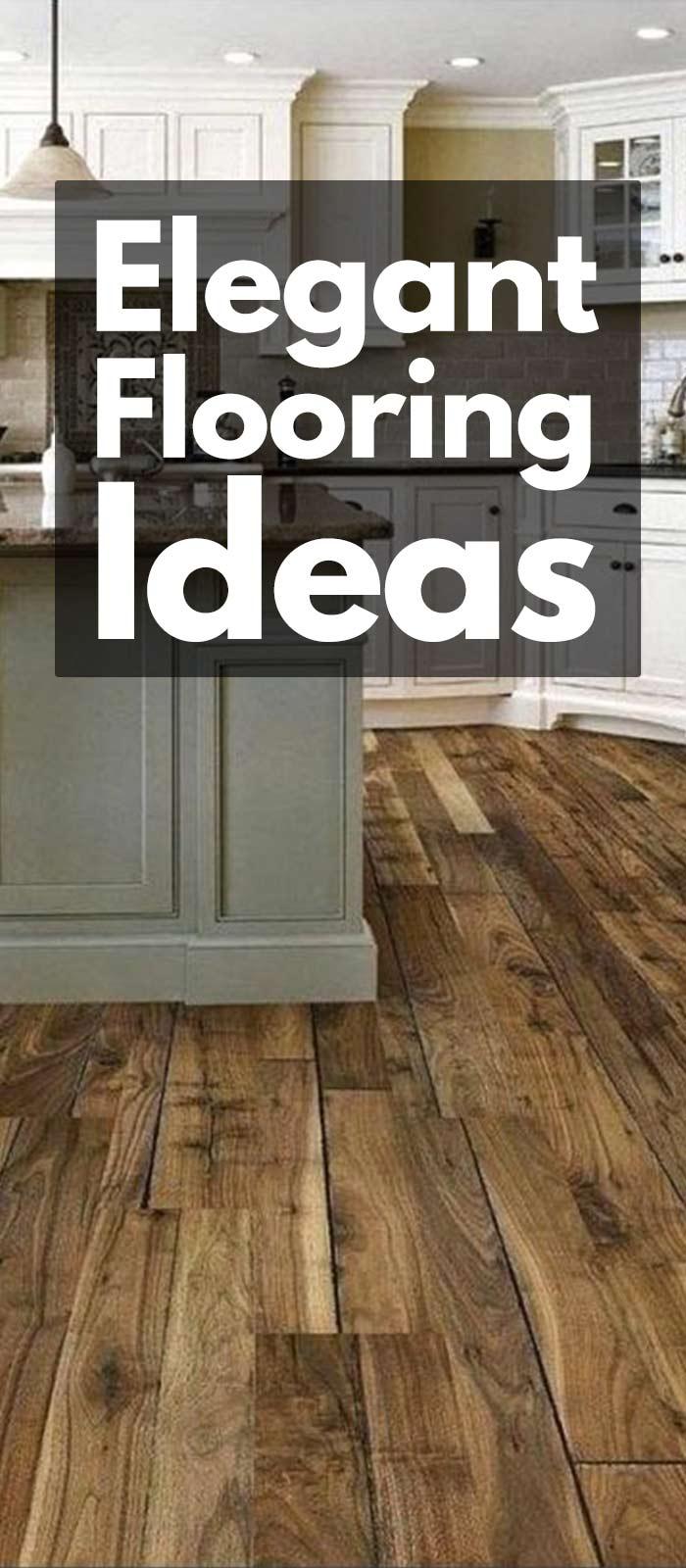 23 Classy And Elegant Flooring Ideas.
