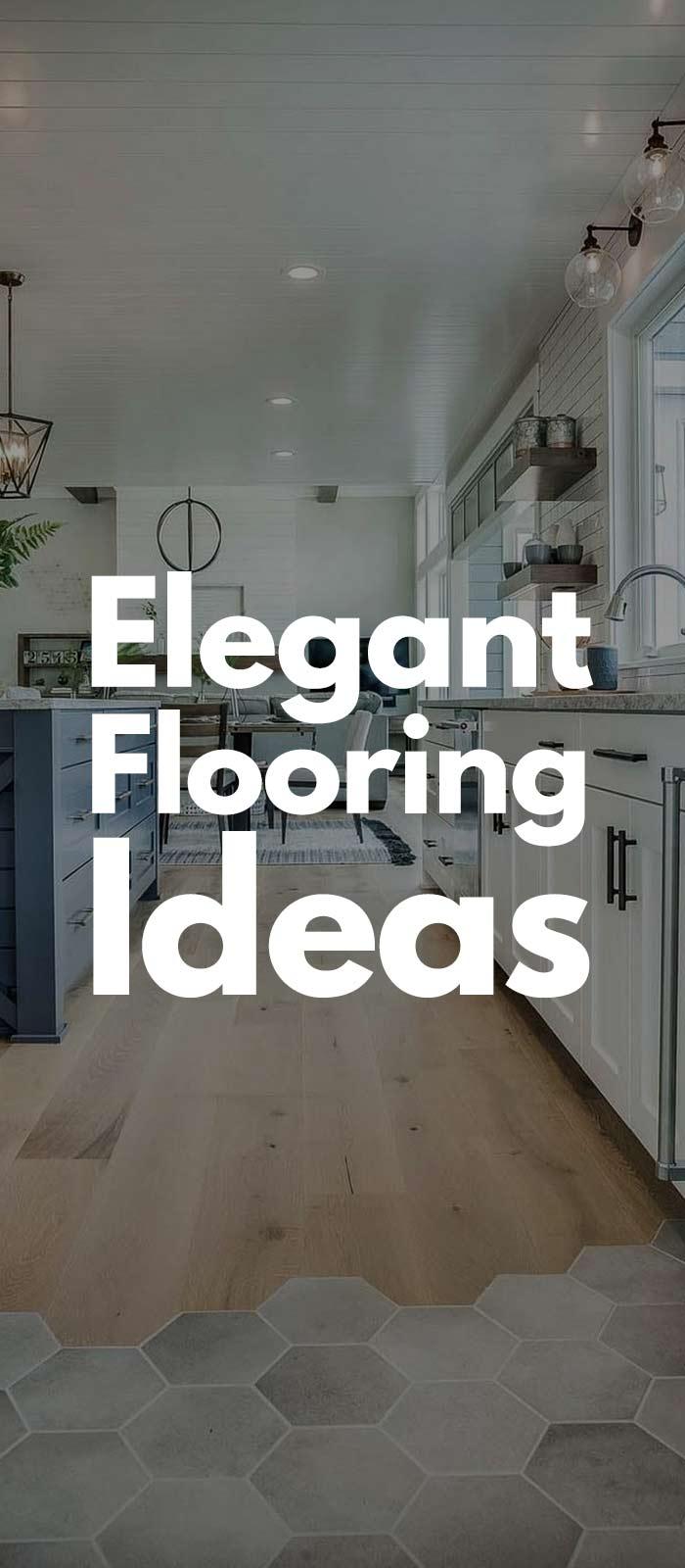 23 Classy And Elegant Flooring Ideas!