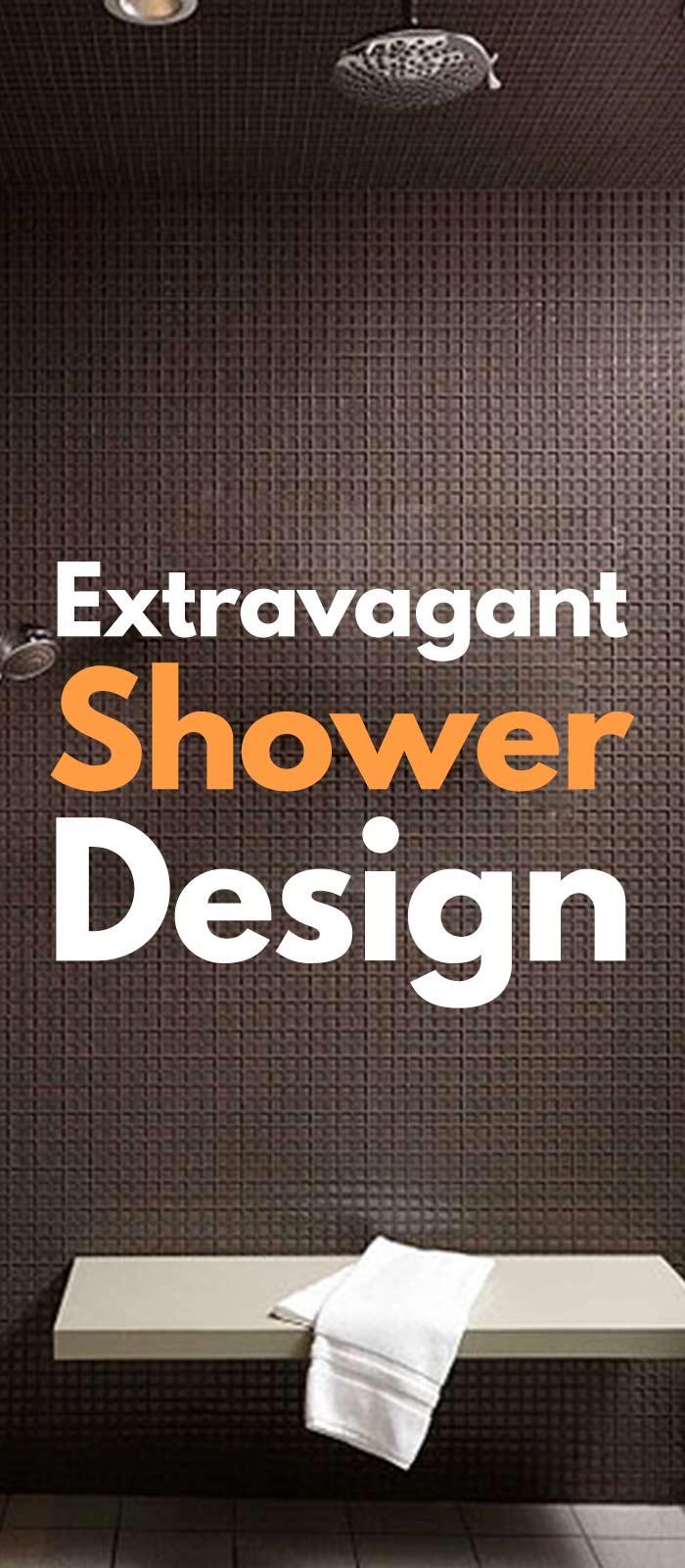 37 Extravagant Shower Design Ideas