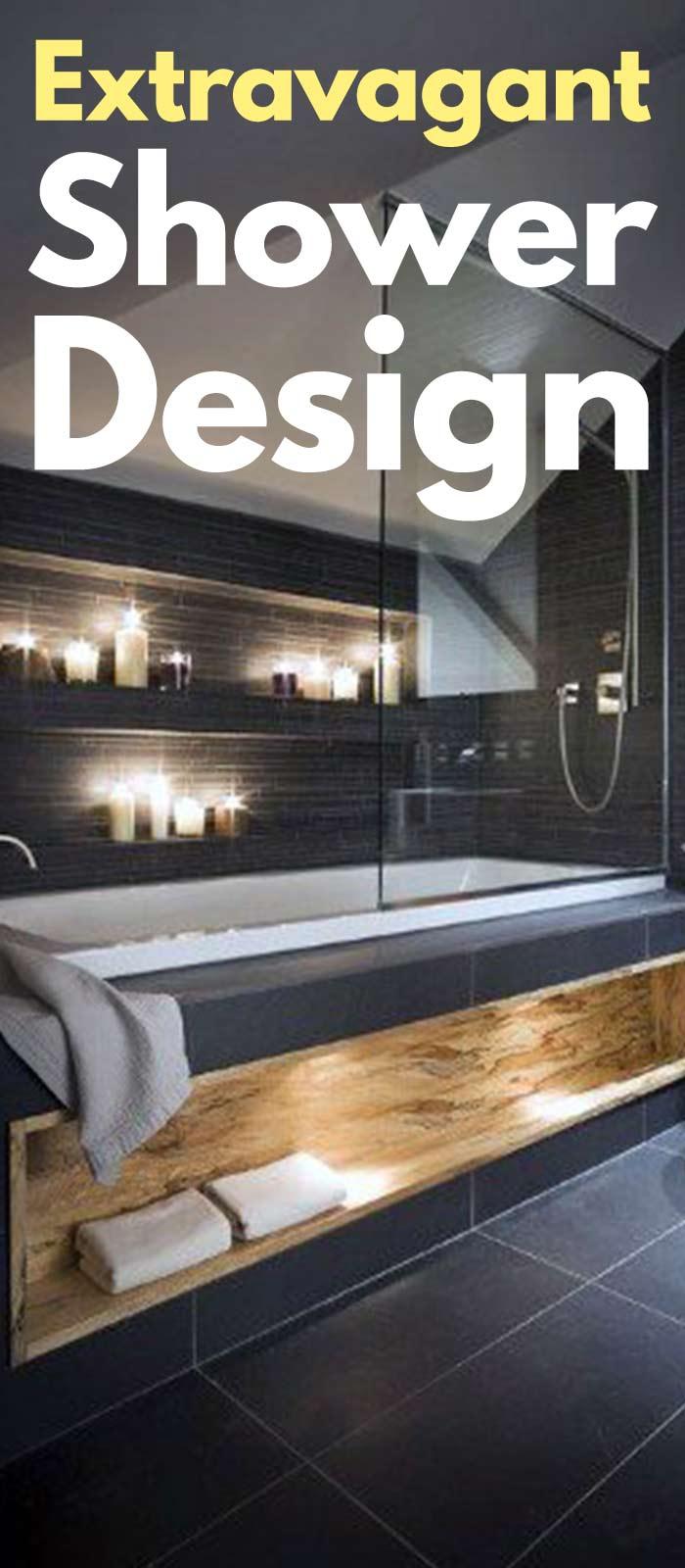37 Extravagant Shower Design Ideas!