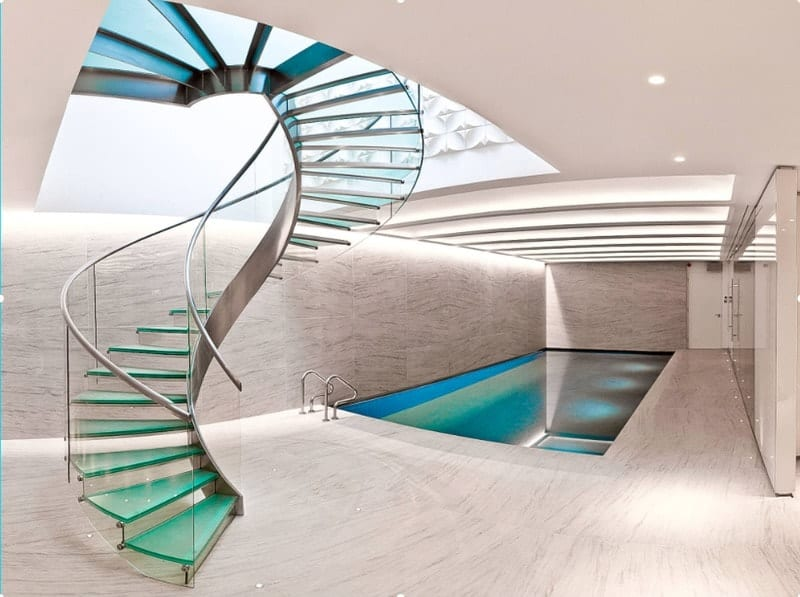 An architectural indoor pool design ideasAn architectural indoor pool design ideas