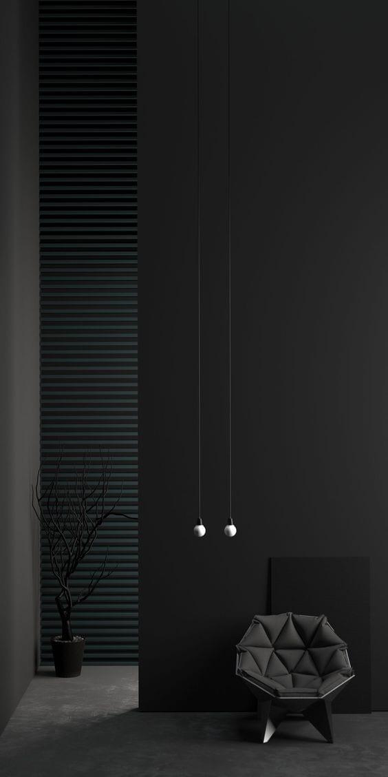 Black tall house living room decor ideas
