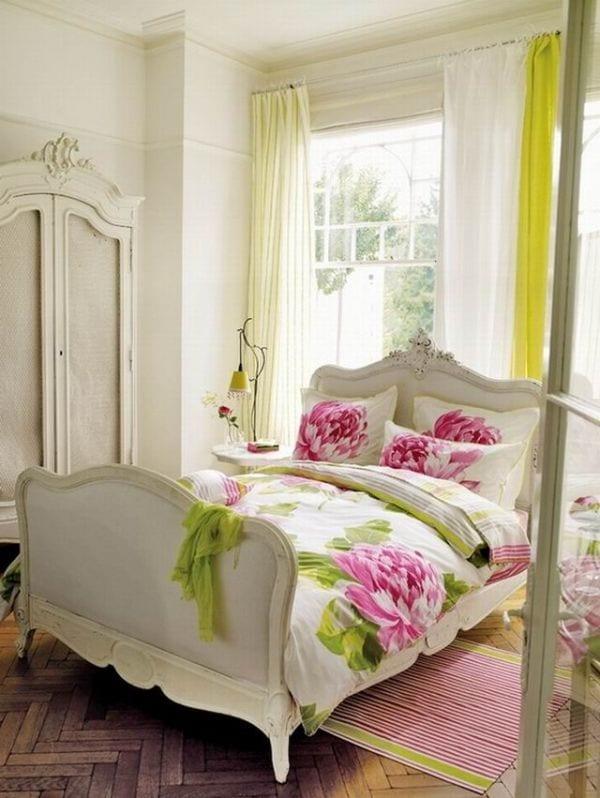 Feminine Bedroom Interiors floral ideas