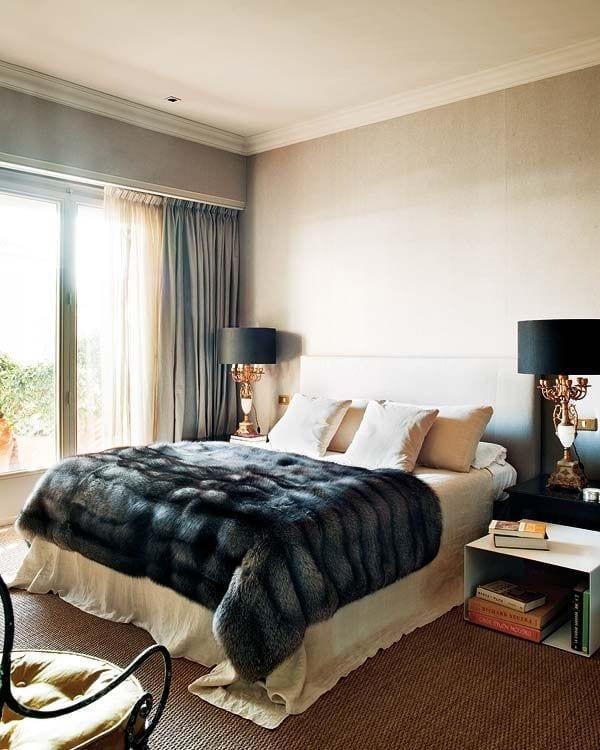 Feminine Bedroom fur design ideas