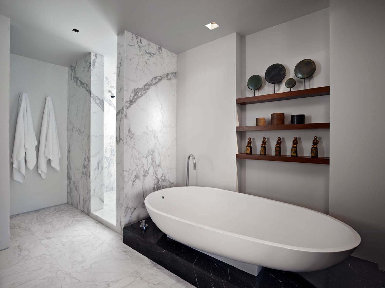 Marble bathtub design ideas